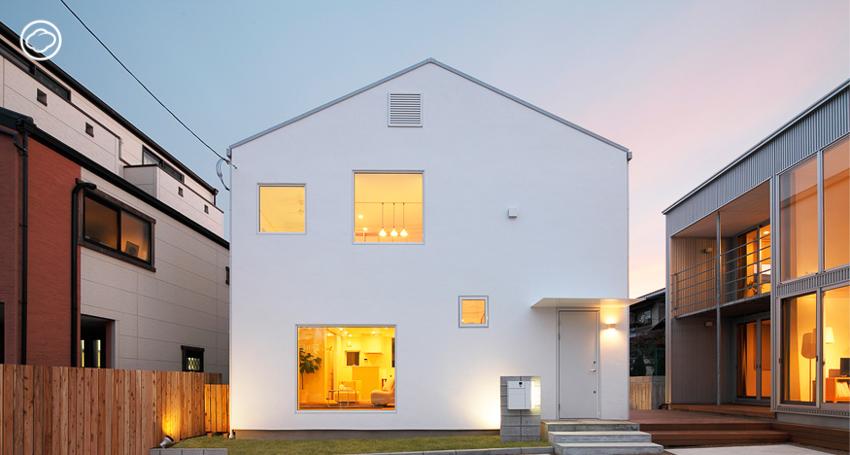 บ้านเล็ก, บ้านสีขาว, บ้านมูจิ, MUJI Window House