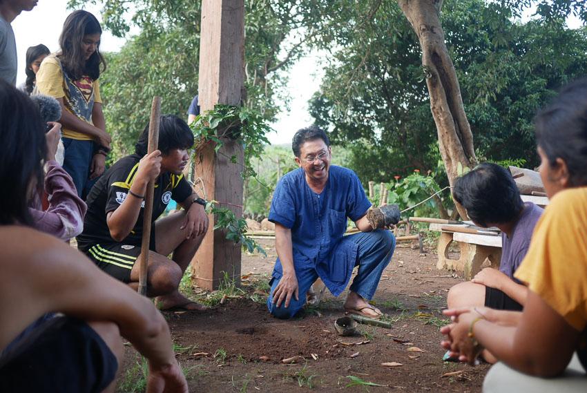 จุลพร นันทพานิช, ปลูกป่า, Mae Wang Wildlife Sanctuary, Gap Year Program