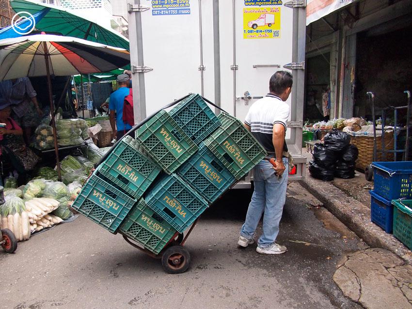 รถเข็นผัก, ปากคลองตลาด, Redesign