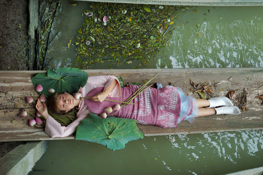 Nadyn Jadyn, ผ้าไทย