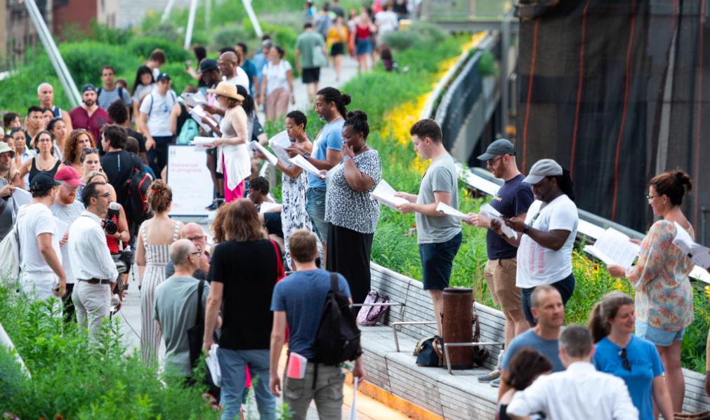 The High Line, นิวยอร์ก