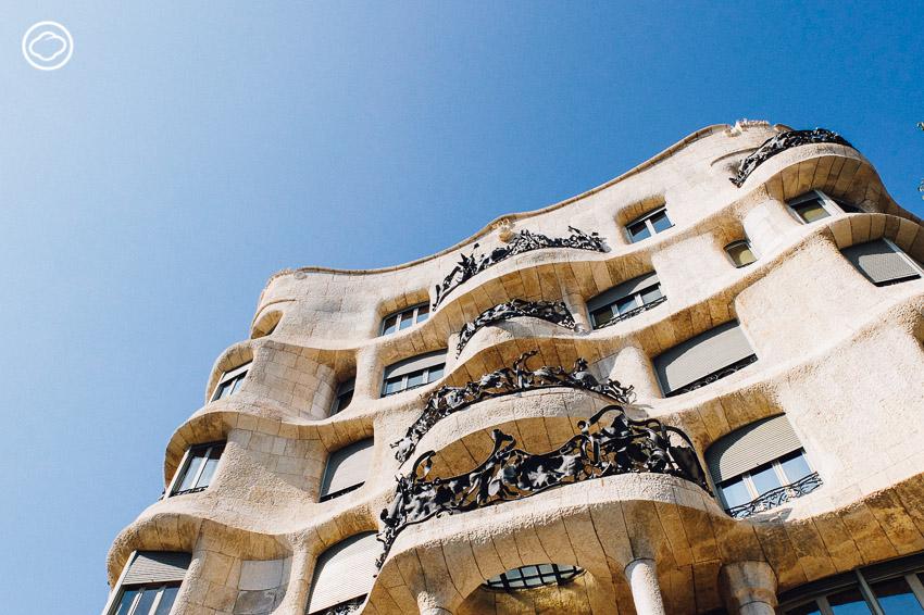 Casa Mila, ประเทศสเปน