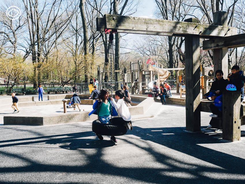 สนามเด็กเล่น, สหรัฐอเมริกา