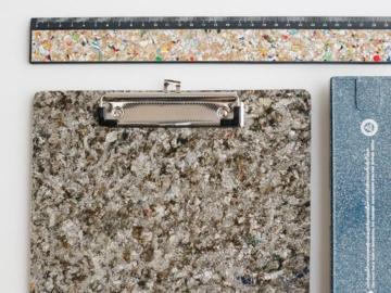'หลังคาเขียว' ภารกิจแปลงกล่องนมกระดาษให้เป็นหลังคาบ้านและเครื่องเขียนด้วยคาถารีไซเคิล