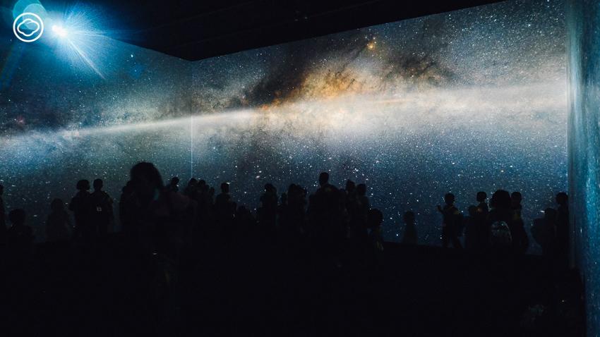 นิทรรศการดาวจรัสฟ้า