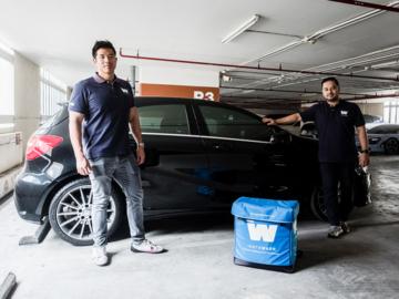 Instawash สตาร์ทอัพบริการล้างรถที่ใช้เทคโนโลยีการล้างแบบเดียวกับรถแข่ง Formula 1