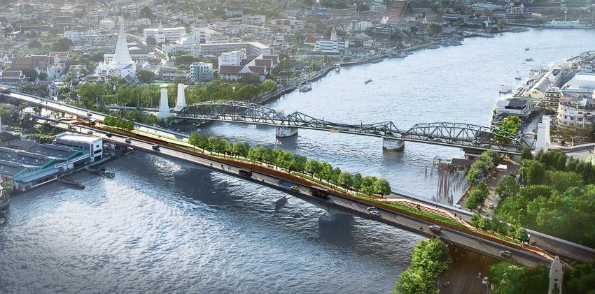 UddC, พระปกเกล้าฯ สกายปาร์ค, สะพานด้วน
