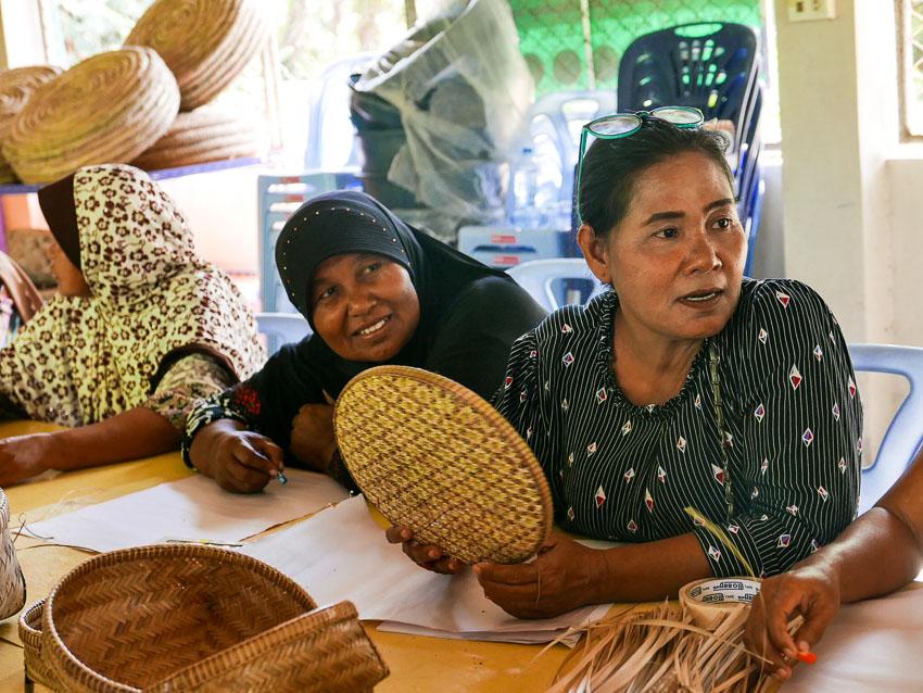 Wanita, ศูนย์ธุรกิจเพื่อสังคมวานีตา, งานคราฟต์