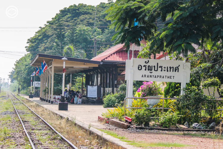 เชื่อมทางรถไฟ, ไทย, กัมพูชา