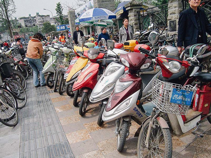 ฝุ่น PM2.5, จักรยานไฟฟ้า