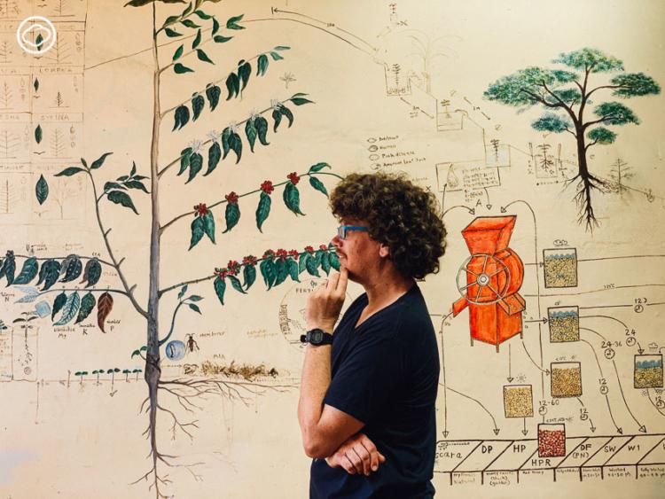 เคเลบ จอร์แดน ฝรั่งบนดอยผู้ใช้กาแฟพัฒนาชีวิตคนเผ่าปรัยและชวนกันสร้างกาแฟดีระดับประเทศ