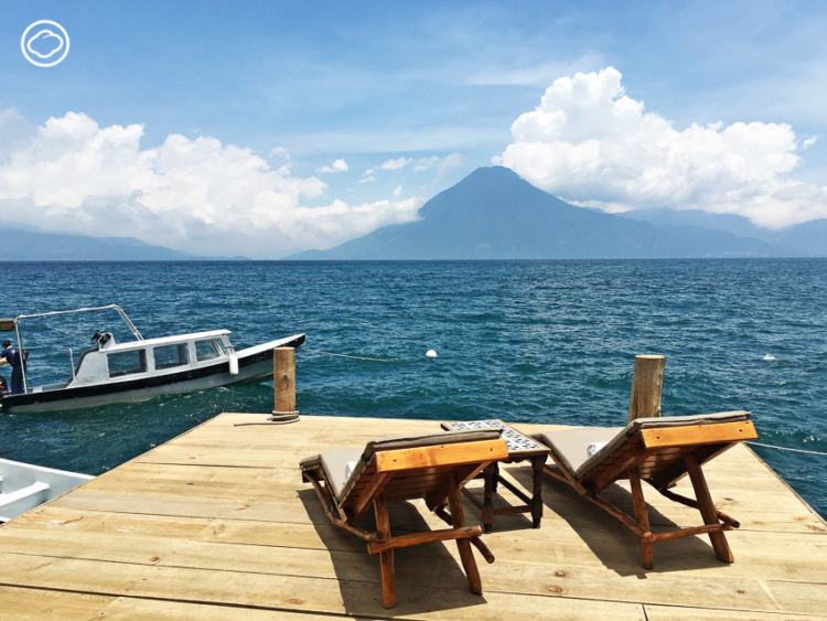 ทะเลสาบอัตติลัน ประเทศกัวเตมาลา