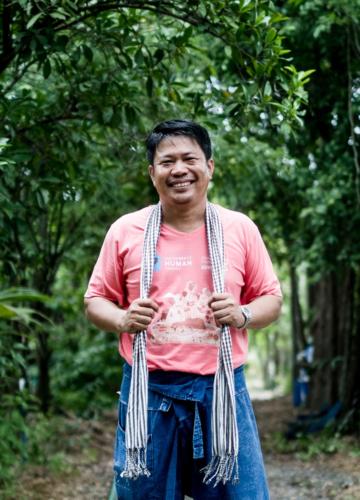 บุญล้อม เต้าแก้ว ปราชญ์ชาวบ้านผู้อธิบายเกษตรอินทรีย์ด้วยต้นทุนบัญชีครัวเรือน