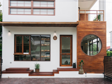 Craft Bread บ้านทรงกล่องและร้านขนมปังสีครีมหน้าตาแบบหลุดออกมาจากนิตยสารญี่ปุ่น
