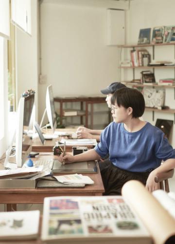 เป็ด ภาคภูมิ และ ยูน พยูณ สองคนไทยที่ทำงานออกแบบกว่าสิบปีในญี่ปุ่น ดินแดนแห่งกราฟิกดีไซน์