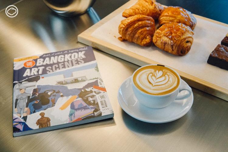 Happening Library คอนเทนต์คาเฟ่ที่เสิร์ฟทั้งกาแฟและศิลปะผ่านธีมเหมือนนิตยสาร