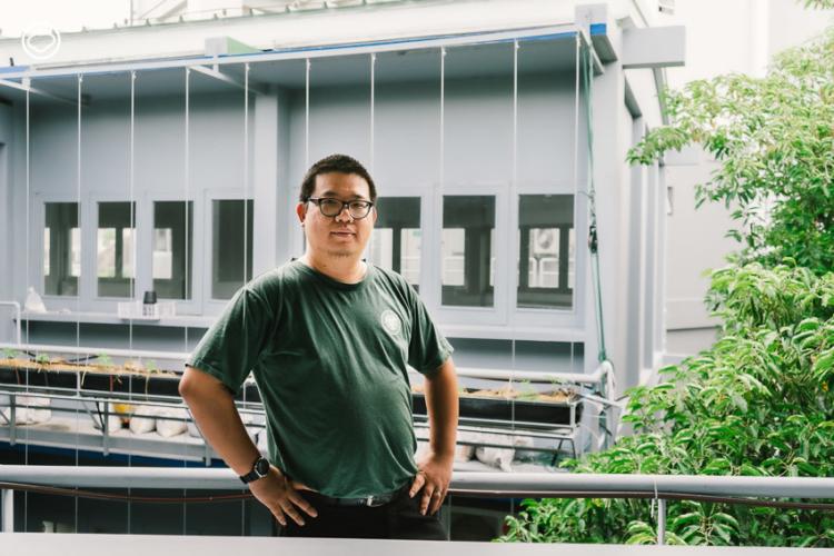 บรูซ-โป้วเจา เฉิน ผู้จัดการฝ่ายโครงการ มูลนิธิ Thai SOS หรือมูลนิธิรักษ์อาหาร