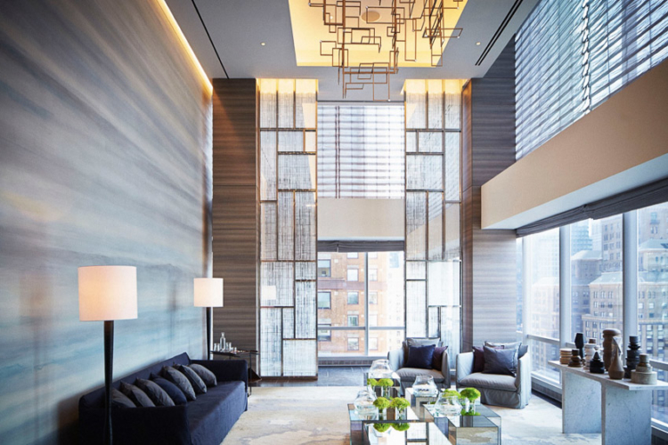 อาคาร ONE57 หรือชื่อเล่นที่เรียกกันว่า The Billionaire Building