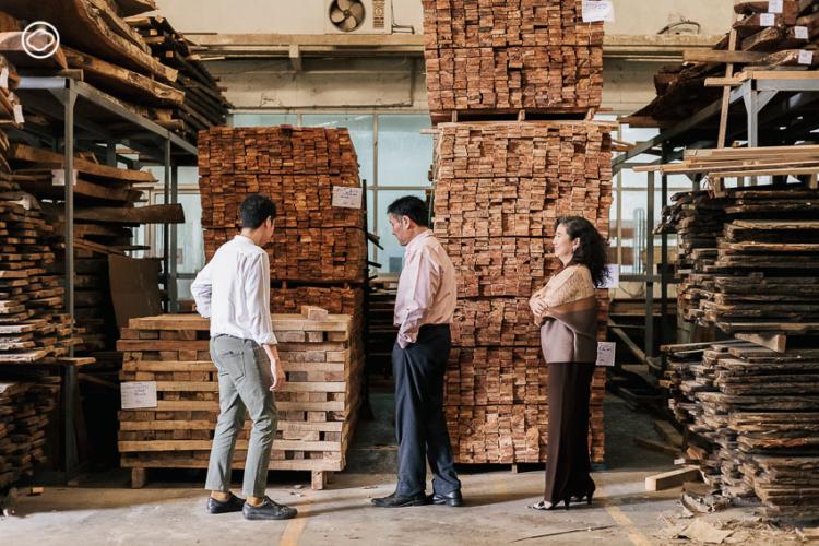 แบรนด์เฟอร์นิเจอร์ Home Office สัญชาติไทยที่ต่อยอดธุรกิจอากงและพ่อแม่