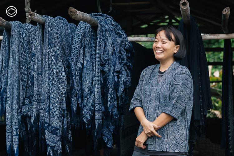 The Cloud และการท่องเที่ยวแห่งประเทศไทย ขอชวนคนรักงานคราฟต์ไปเรียนรู้วิชาเขียนเทียนย้อมครามของชาวม้ง ผ้าทอของชาวไทลื้อ ไปจนถึงผ้าย้อมสีธรรมชาติในจังหวัดน่าน