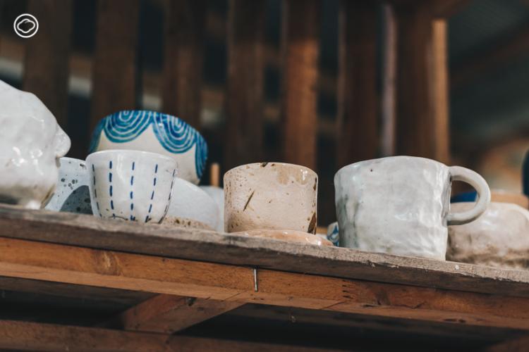 คำมีสตูดิโอ สตูดิโอเซรามิกแห่งแรกของแพร่ที่เปิดเวิร์กช็อปให้คนปั้นดินพร้อมกินพิซซ่าโฮมเมด