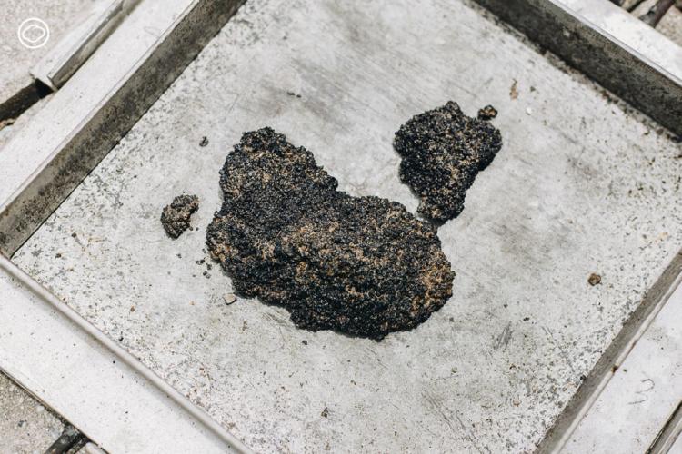 บล็อกปูถนนรีไซเคิล โครงการแปรขยะพลาสติกจากครัวเรือนให้เป็นบล็อกปูถนนทนทานแต่ต้นทุนต่ำ