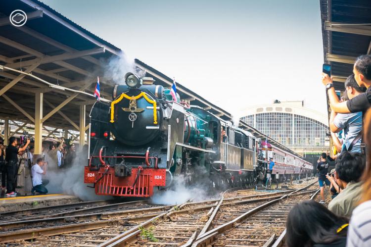 รถจักรไอน้ำ บรรพบุรุษรถไฟโลกที่เหลือเพียง 5 คันในไทย และจะออกโชว์ตัวเพียงปีละ 6 ครั้งเท่านั้น