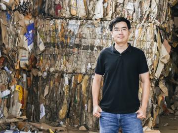 เจ้าของเพจ ลุงซาเล้งกับขยะที่หายไป กับการทำสตาร์ทอัพแอปฯ Green2Get เพื่อคนคิดอยากแยกขยะ