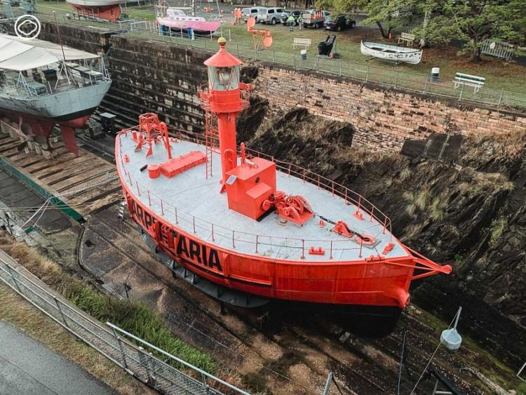 พิพิธภัณฑ์เดินเรือที่ Queensland Maritime Museum