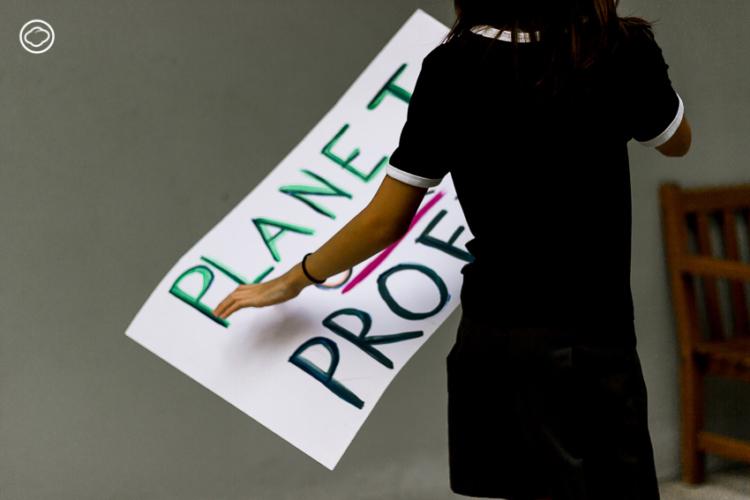 ลิลลี่ นักเคลื่อนไหววัย 12 ที่ชวนผู้ใหญ่ร่วมหาทางออกเรื่อง Climate Change