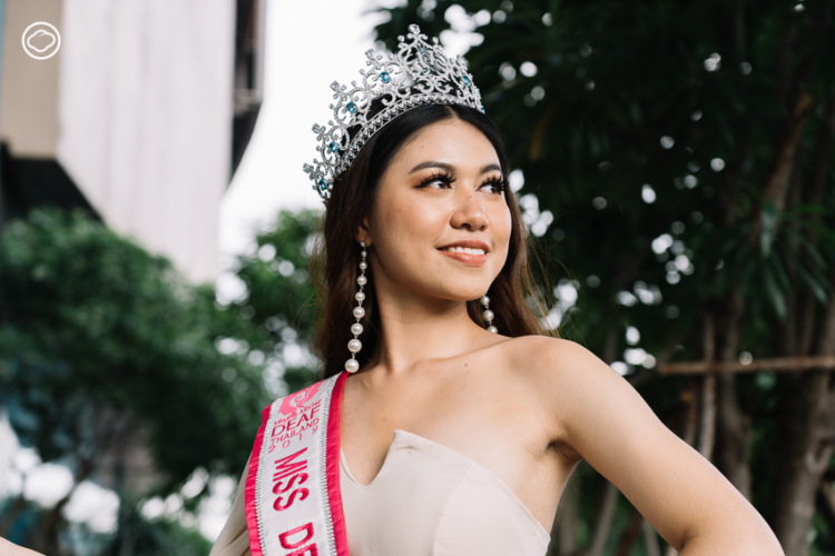 ปุ๊กกี้-กาญจนา พิมพา Miss Deaf Thailand นางงามหูหนวกเอเชียหรือ Miss deaf Asia 2019