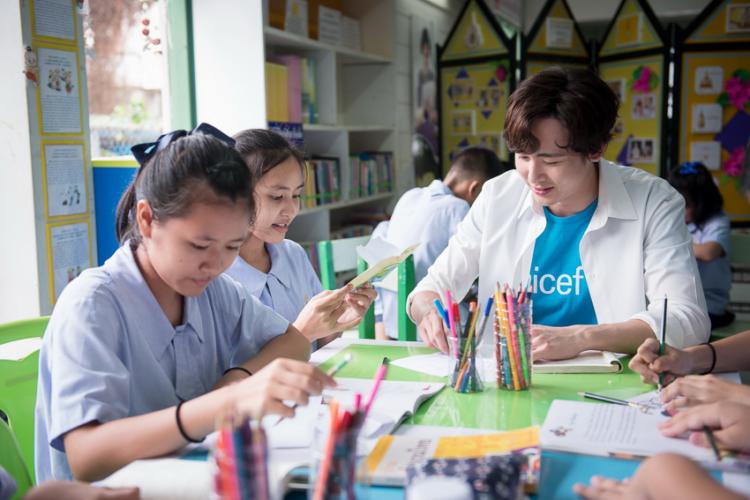 นิชคุณ Friend of Unicef