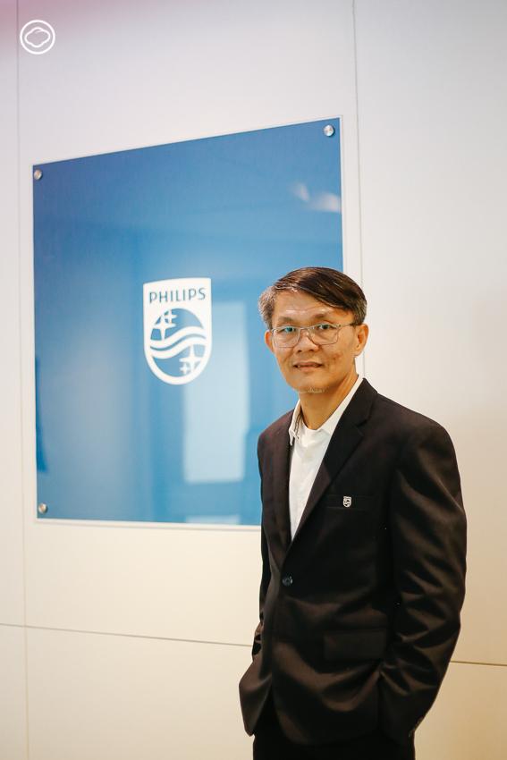 วิโรจน์ วิทยาเวโรจน์ ประธานและกรรมการผู้จัดการ บริษัท ฟิลิปส์ (ประเทศไทย) จำกัด