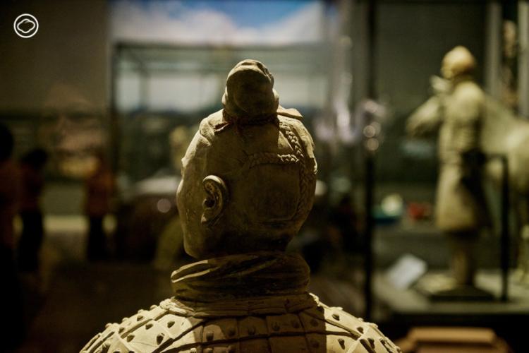 นิทรรศการ จิ๋นซี ฮ่องเต้: จักรพรรดิองค์แรกของแผ่นดินจีนกับกองทัพทหารดินเผา