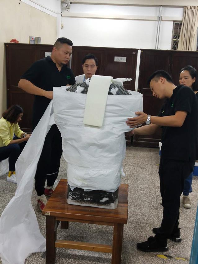เบื้องหลังทุกขั้นตอนของการขนย้ายโบราณวัตถุล้ำค่า ทหารดินเผาจิ๋นซี จากจีนสู่ไทย