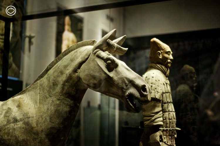นิทรรศการ จิ๋นซี ฮ่องเต้ : จักรพรรดิองค์แรกของแผ่นดินจีนกับกองทัพทหารดินเผา