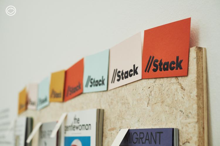 Stack ร้านนิตยสารอิสระออนไลน์ เล็กๆ ที่มี New York Public Library เป็นลูกค้า