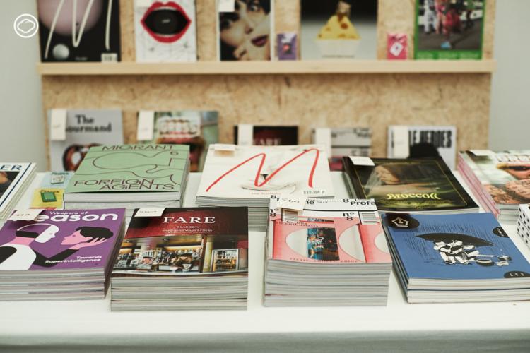 Stack ร้านนิตยสารอิสระออนไลน์เล็กๆ ที่มี New York Public Library เป็นลูกค้า
