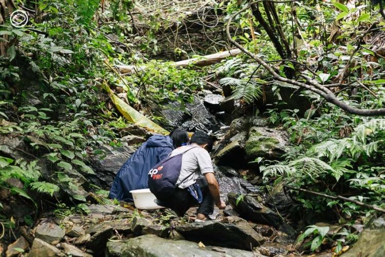 เดินป่าศึกษาต้นน้ำ น่าน และเรียนวิชาเก็บน้ำจากกสิกรรมธรรมชาติ เพื่อเข้าใจว่ารักษ์น้ำแล้วต้องรักป่าด้วย