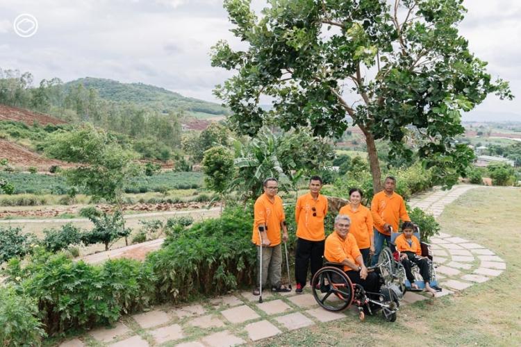 พลิกป่าข้าวโพดเป็น View Share Farm ฟาร์มเกษตรและฟาร์มสเตย์ที่บริหารโดยกลุ่มคนพิการโคราช