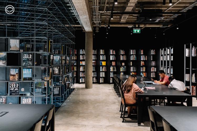 ห้องสมุด คณะสถาปัตยกรรมศาสตร์ จุฬาลงกรณ์มหาวิทยาลัย