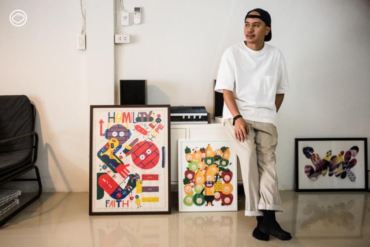 ภาพประกอบชีวิตของ จักรกฤษณ์ อนันตกุล นักวาดภาพประกอบไทยที่แบรนด์ดังทั่วโลกให้การยอมรับ