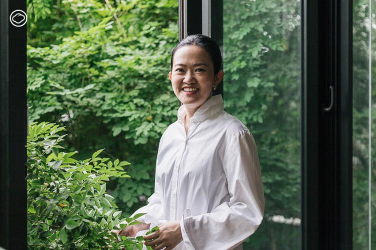 กชกร วรอาคม ภูมิสถาปนิกนักสร้างสวนที่ติดอันดับนิตยสาร TIME และพูด TED Talk ที่สหรัฐฯ