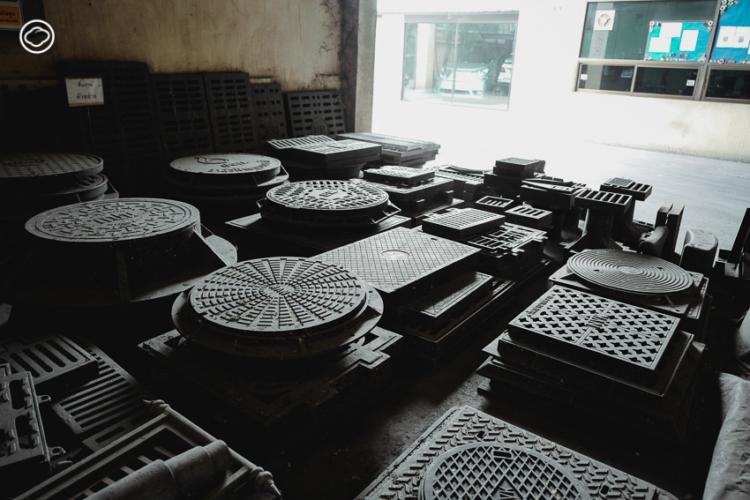 ทายาทรุ่นสอง นวกาญจน์โลหะชลบุรี โรงงานเหล็กหล่อผู้ผลิตฝาท่อสีเจ้าแรกในไทย