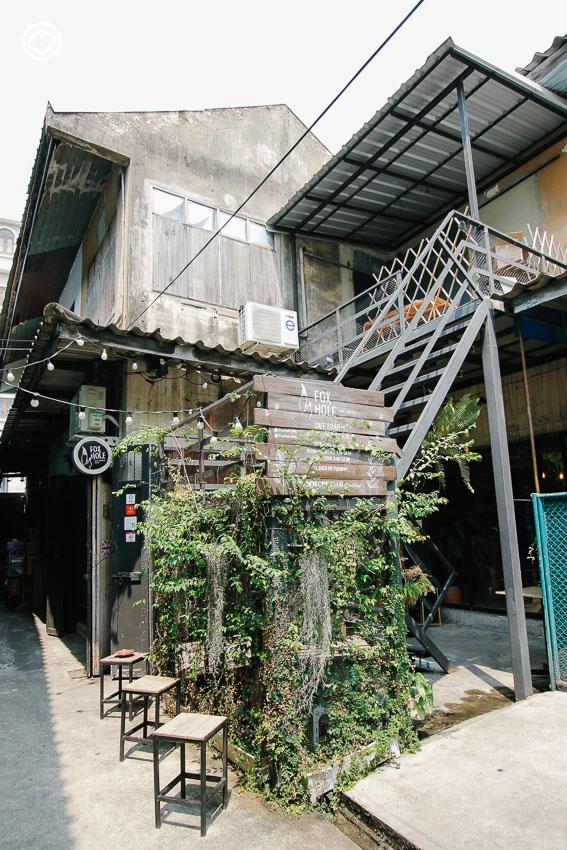 Foxhole BKK - art shelter cafe หลงมนตร์เสน่ห์ตึกเก่ากับ 12 คาเฟ่รีโนเวต แสนสวยในเกาะรัตนโกสินทร์
