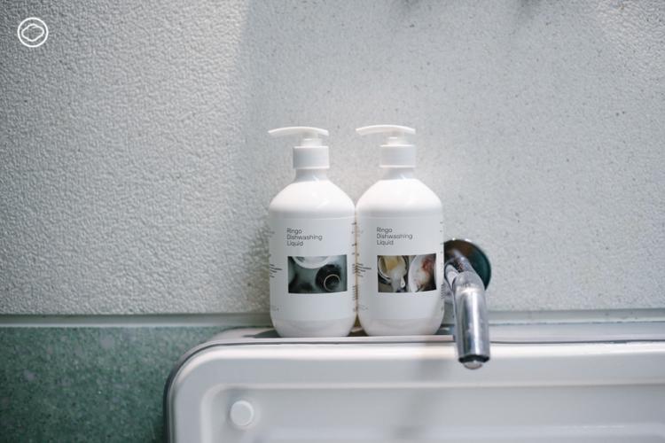 Ringo แบรนด์น้ำยาล้างจานของนักออกแบบ เจ้าของร้านอาหาร สปา คาเฟ่ ผู้หมกหมุ่นกับการล้างจาน