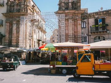 เดินตะลุยตลาดอายุกว่าร้อยปี ตามรอยอาหรับบนเกาะซิซิลี เกาะที่ใหญ่ที่สุดของอิตาลี