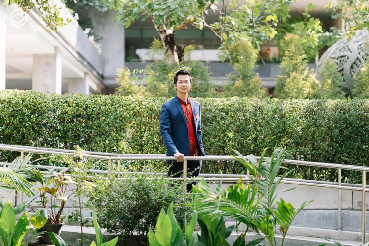 ผศ. ดร.ชุมเขต แสวงเจริญ อาจารย์ประจำคณะสถาปัตยกรรมศาสตร์และผังเมือง มหาวิทยาลัยธรรมศาสตร์