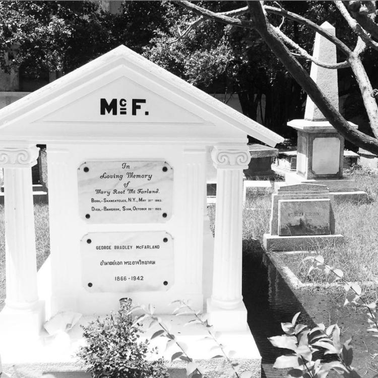 George McFarland ชายผู้เป็นอิฐก้อนแรกของ ศิริราช และทำให้เกิดคณะแพทย์ฯ ศิริราชพยาบาล