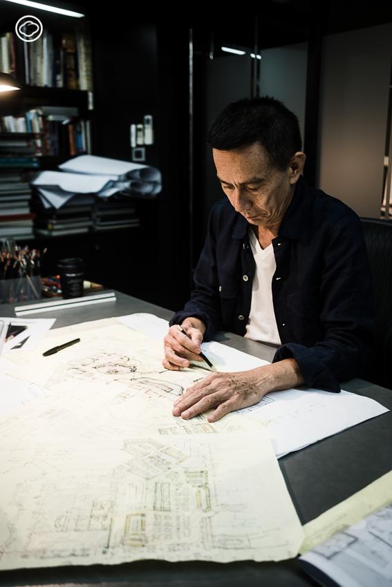 พงษ์เทพ สกุลคู นักออกแบบภายในที่สนใจในการออกแบบพื้นที่ที่อยู่สบายแบบพอดี